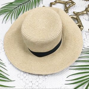 H&M Black Band Sun Hat